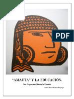 Amauta y la educacion