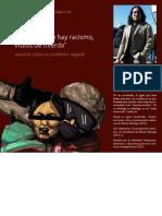 En Bolivia no hay racismo