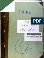 Ordinul Ministrului Afacerilor Interne nr. 2445 din 23.08.1968