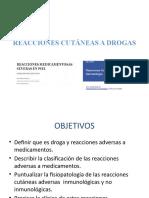 REACCIONES CUTÁNEAS A DROGAS chido