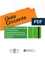 guia-docente Competencias Emprededoras RD