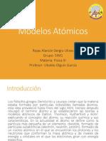 Rojas Alarcón Sergio Ulises 5IM1 Modelos Atómicos