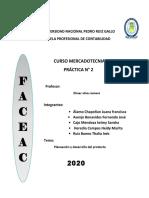 PRÁCTICA 2 Planeamiento y desarrollo del producto-DESARROLLO