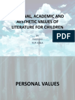TOPIC 2- Personal, academic and aesthetic values.pptx