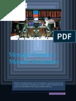 TRABAJO DE MERCADO PRIMARIO Y SECUNDARIO