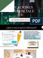 Ecuaciones diferencialesexposicion1