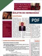 Boletín oficial de la Cofradía Nuestro Padre Jesús Nazareno y Mª Stma. Soledad Angustiada 2006