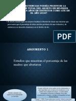 Efectos de la Legalización del aborto en el Perú