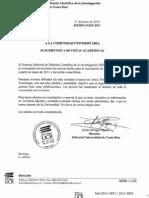 Suscripción a Revistas Académicas