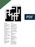formação de portugal (palavras cruzadas)