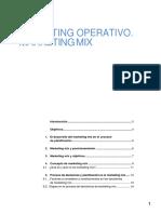 Marketing Operativo. El Marketing Mix