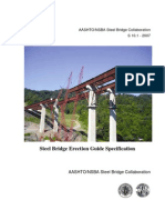 Steel Bridge Erection Guide