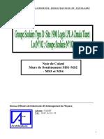 Calcul MS H=5.05m 100 Bureaux