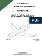 Bombardier Challenger 300 Performance Flight Crew Manual