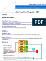 Regulaltions_NSW Legislation Electrical Safety (Electrical In