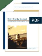 2007 study report