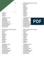 Atv com verbos para escrita