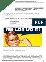 Le Droit Des Femmes Au Travail _ Une Histoire Mouvementée _ Forbes France