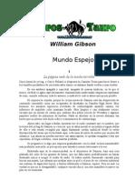 MUNDO ESPEJO . William Gibson