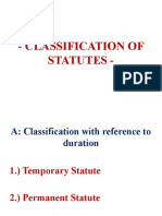 CLASSIFICATION OF STATUTES.pptx