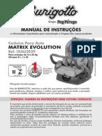 Manual Cadeira Burigotto Matrix