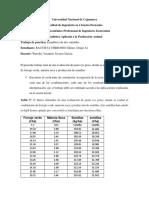 TRABAJO PRACTICO ESTADISTICA DE DOS VARIABLES