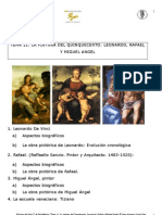 11. La pintura del Cinquecento Leonardo, Rafael y Miguel Ángel