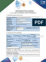 Guía de actividades y rúbrica de evaluación - Paso 3 - Diagrama de forrester