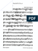 Telemann 6partitas Score+Part.Oboe