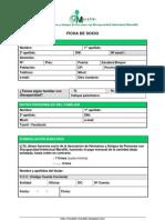 FICHA DE SOCIO