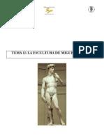 12. La escultura de Miguel Ángel