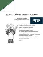 Tríduo a São Raimundo Nonato