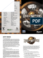 Rise of Nations Manual (English)