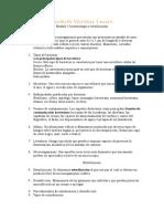 Bactereología y esterilización