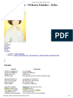 Paroles _ Lyrics _ Orikasa Fumiko _ Echo