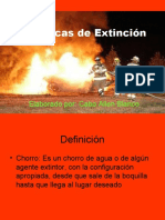 Técnicas de Extinción