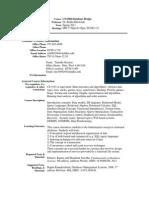 UT Dallas Syllabus for cs6360.501.11s taught by Rekha Bhowmik (rxb080100)