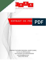 CARA Extrait de presse hebdomadaire 18 au 23 mai 20.pdf