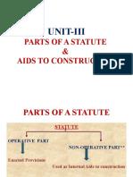 Parts of a Statute- Slide-I