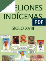 rebeliones indgenas siglo XVIII