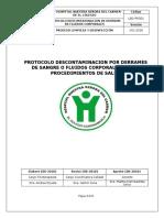 L&D-PRO01_Protocolo_Descontaminacion_ Derrames_de_Sangre_o_Fluidos_Coporales