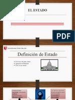 07.1 PODER POLITICO ESTATAL - EL ESTADO