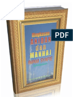 Ringkasan Akidah dan Manhaj Imam Syafie Rahimahullah (Biografi Imam Syafi'i)
