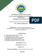 Árbol de Objetivos y Matriz de Marco Lógico - Grupo N° 04