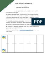 Atividade Prática I - Datiloscopia
