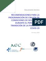 RECOMENDACIONES PARA LA PROGRAMACIÓN DE CIRUGÍA EN CONDICIONES DE SEGURIDAD DURANTE EL PERIODO DE TRANSICIÓN DE LA PANDEMIA COVID-19.pdf