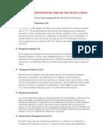 EMPRESAS MÁS IMPORTANTES DEL PERÚ DEL SECTOR DE LA PESCA (1)