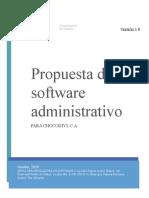 Desarrollo de software administrativo