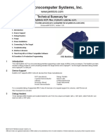 PE3514 - Technical summary for USB-ML-ACP