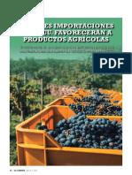 idexcam 911_mayores importaciones de ee.uu. favorecerán a productos agrícolas